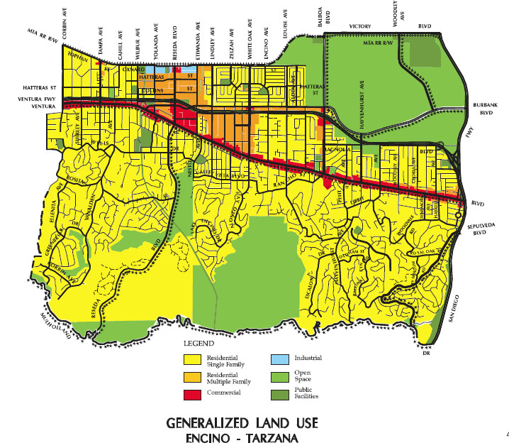 Zoning Primer Homeowners Of Encinos Web Page - Los angeles zoning map
